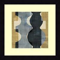 ART4U Geometric Deco II - Framed Print 16 Inch X 16 Inch (Multicolor)