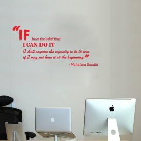 Highbeam Studio Gandhi Quote - Small