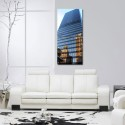 999Store Multiple Frames Printed Glass Building Modern Wall Art Painting -2 Frames (76x25 Cm) - Multicolor