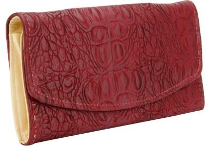 Aadaana Women, Girls Maroon Artificial Leather Wallet