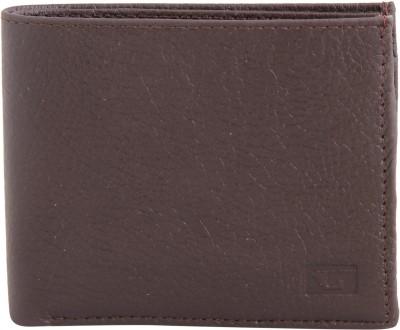 Gansta Men, Women Brown Genuine Leather Wallet