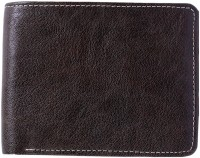 Contra Men Brown Artificial Leather Wallet 4 Card Slots