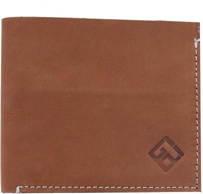 Giani Bernard Men Brown Genuine Leather Wallet