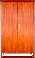 Godrej Interio Avana Solid Wood Free Standing Wardrobe (Finish Color - Medium Brown, 2 Door )
