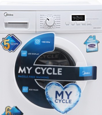 Midea 6 kg Fully Automatic Front Load Washing Machine (MWMFL060GHN)