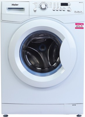 Haier 7 kg Fully Automatic Front Load Washing Machine Silver