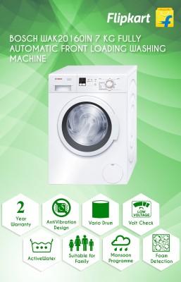 Bosch WAK20160IN 7 kg Fully-Automatic Washing Machine