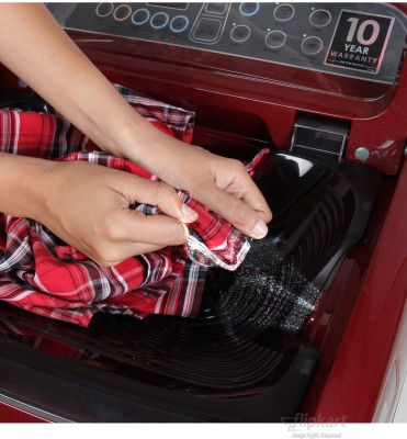 SAMSUNG Samsung WA70H4000HP/TL 7 Kg Fully Automatic Washing Machine