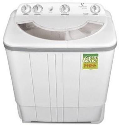 Videocon 6 kg Semi Automatic Top Load Washing Machine Grey (VS60A11 Storm)