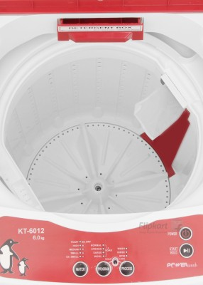 Kelvinator 6 kg Fully Automatic Top Load Washing Machine (KT6012TR-FAU)