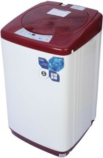 Haier 5.8 kg Fully Automatic Top Loading Washing Machine Red