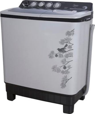Midea 8 kg Semi Automatic Top Load Washing Machine (MWMSA080015)