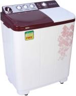 Videocon 7.2 kg Semi Automatic Top Loading Washing Machine Maroon, Red