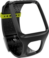 Tomtom Comfort Band - Slim Black 35 Mm Elastomer Watch Strap Black