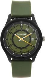 Sonata Wrist Watches 77007PP01