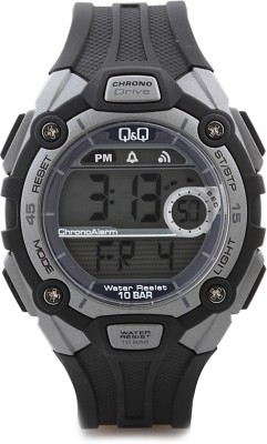 Q&Q Digital Watch   For Men Blue available at Flipkart for Rs.715