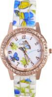 Zoya-V2 ZV2-908-WDBG-05 Rose Gold Dial Analog Watch  - For Girls, Women