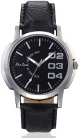 Rico Sordi RSMW_L21 Mens Black Leather (Rsmw_l21) Analog Watch  - For Men