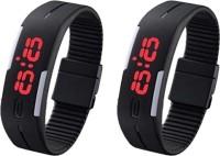 Artek AK008LED-2-set-of-black-led-combo Digital Watch  - For Boys, Men, Girls