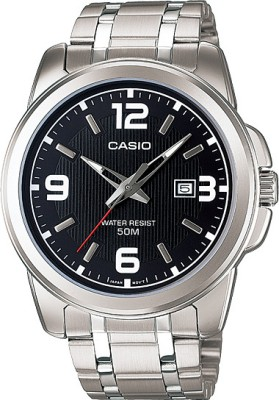 Casio Enticer Analog Digital Watch   For Men Black available at Flipkart for Rs.2370