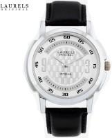 Laurels Original Veteran Analog Watch - For Men (Black)
