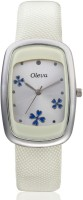 Oleva OLW-17 WHITE Single Analog Watch  - For Women