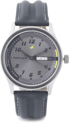 Fastrack Urban Kitsch Analog Watch  - For Men - Grey
