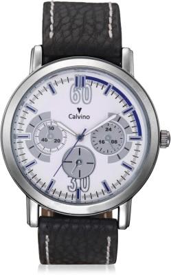Calvino Calvino Analog Watch (Black)