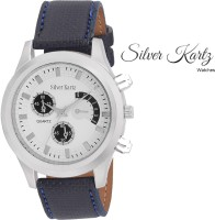 Silver Kartz Luxury White Gold Collection Analog Watch  - For Men