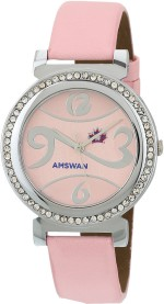 American Swan Wrist Watches 141ATWWHWAS51 PINK
