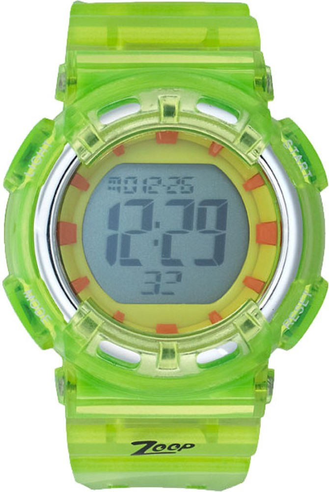 Zoop NDC3026PP03J Candy Digital Watch For Kids