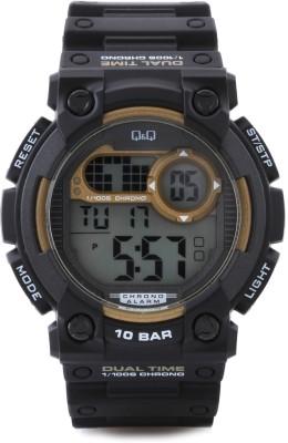 Q&Q Digital Watch   For Men Black available at Flipkart for Rs.775