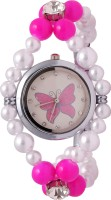 Super Drool ST2343_WT Crystals Analog Watch  - For Women