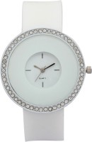 Merchant Eshop Sil17 Silicon White Analog Watch  - For Women
