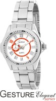 Gesture G23L-SL-RD Elegant Analog Watch  - For Women