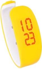 Fleetwood Wrist Watches Fleetwood Wristlet Super Unique Yellow Digital Watch For Girls, Women