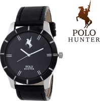 Polo Hunter Winsome Elegant Strap Casino Luxury Gents Formal Stylo Analog Watch  - For Men