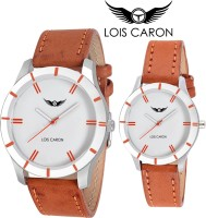 Lois Caron White Couple Analog Watch Analog Watch  - For Couple