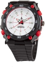 Lenco Wrist Watches Lenco CPLENCOSPEEDWDRED Speed Collection Analog Watch For Men