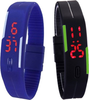 Oxter Wrist Watches Oxter CMB Bl BkGr Modest Digital Watch For Boys