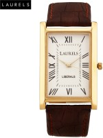 Laurels Liberal Premium Analog Watch - For Men (Brown)