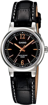 Casio Fiber Collection Analog Watch   For Women Black available at Flipkart for Rs.2395