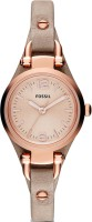 Fossil Georgia Analog Watch  - For Women - Light Brown