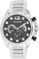 Police Analog Watch - For Men (Silver)