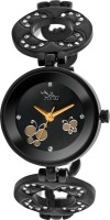 Ilina ILBPFLWBLK Butterfly Analog Watch - For Women