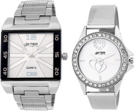 Oxter OX CMB-35 Modest Analog Watch  - For Couple