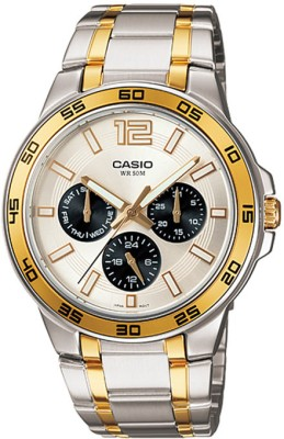 Casio MTP 1300SG 7AVDF Analog Watch    For Men available at Flipkart for Rs.3199