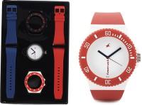 Fastrack DIY Interchangable Analog Watch  - For Men - Red