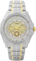 Timex E-Class Analog Watch  - For Men - Gold, Silver