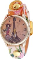 Super Drool ST2609_WT_BEIGE Analog Watch  - For Women